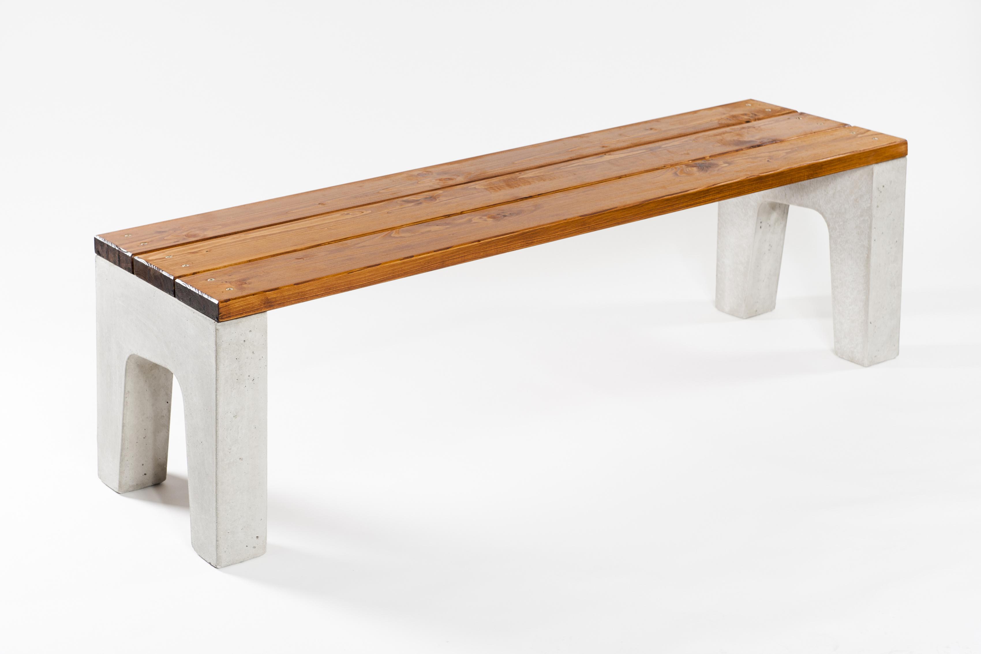 Betonová lavička ADVAS BEZOP