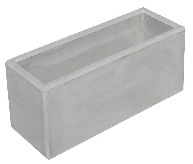 Betonový květináč hladký beton