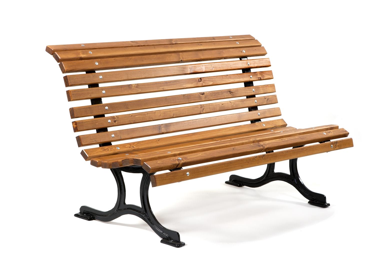 Litinová lavička Pohoda