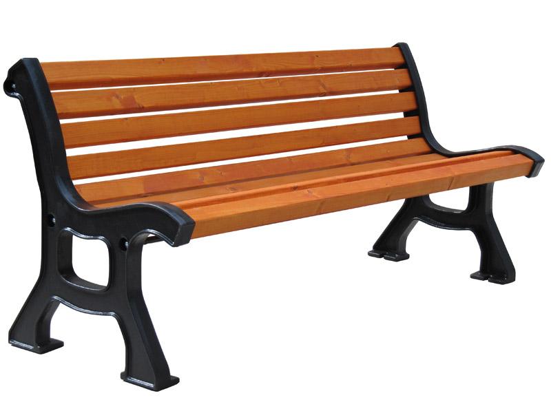 Litinová lavička Itálie Roma